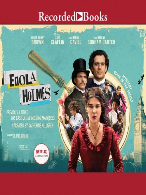 Enola Holmes Book 1: The Case of the Missing Marquess Cover