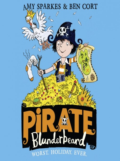 Pirate Blunderbeard Book 1: Worst. Holiday. Ever Cover