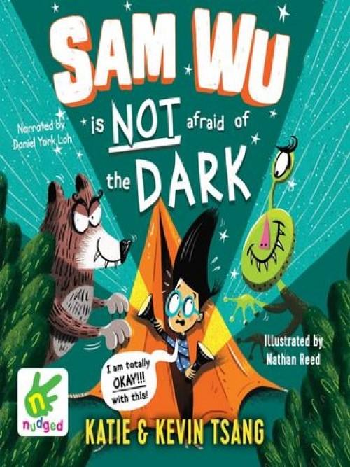 Sam Wu Book 3: Sam Wu is Not Afraid of the Dark Cover