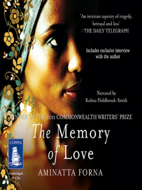 The Memory of Love Cover