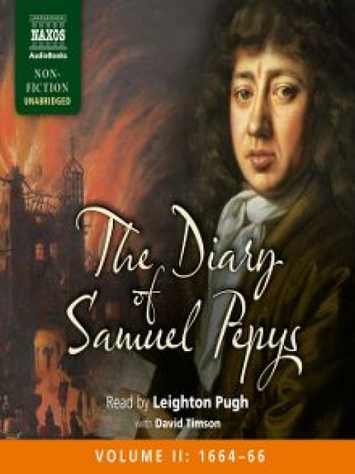 The Diary of Samuel Pepys, Volume Ii: 1664-1666 Cover
