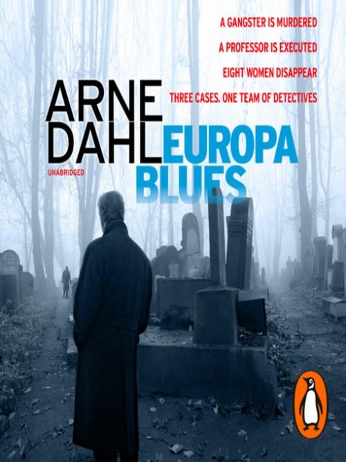 Intercrime Book 4: Europa Blues Cover