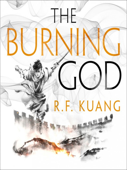 The Poppy War Series Book 3: The Burning God Cover