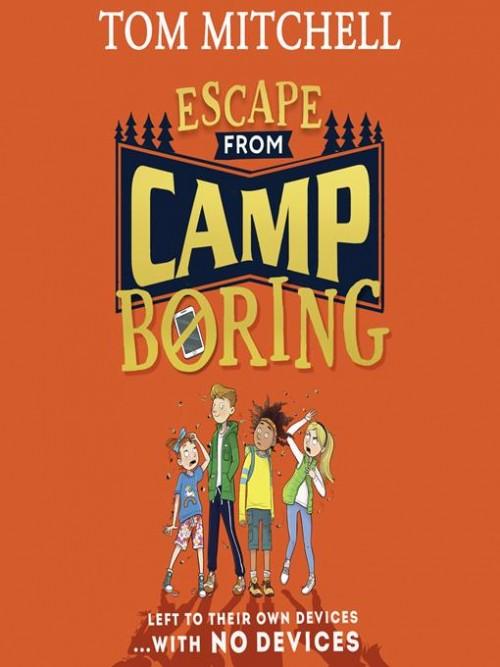 Escape From Camp Boring Cover