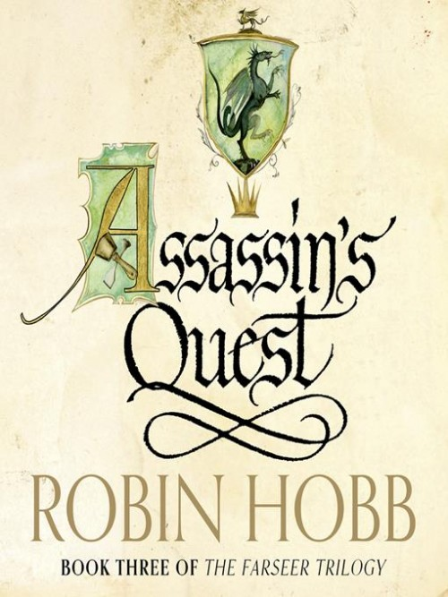 Farseer Trilogy Book 3: Assassin's Quest Cover
