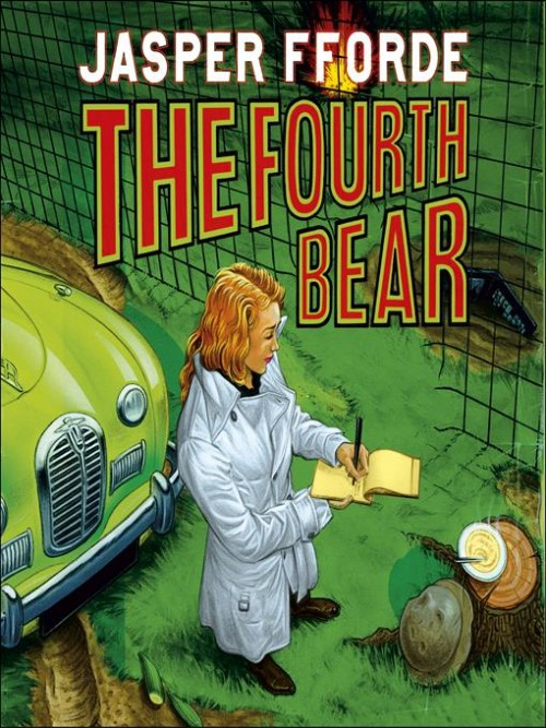 Nursery Crime Series Book 2: The Fourth Bear Cover