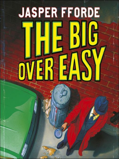 Nursery Crimes Series Book 1: The Big Over Easy Cover