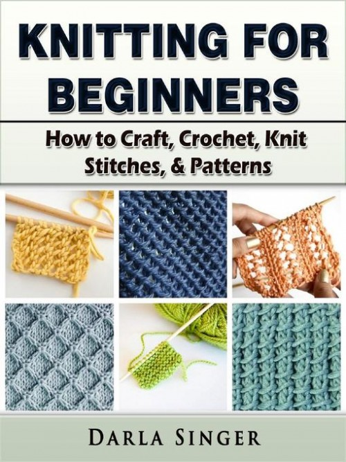 Knitting For Beginners Cover