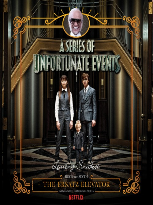 A Series of Unfortunate Events Book 6: The Ersatz Elevator Cover