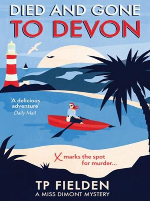 Miss Dimont Series Book 4: Died and Gone To Devon Cover