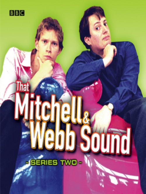 That Mitchell & Webb Sound, Series 2 Cover