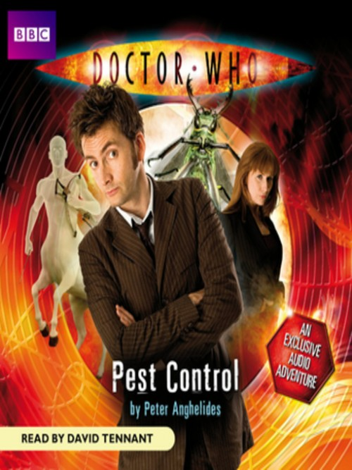 Doctor Who: Pest Control Cover
