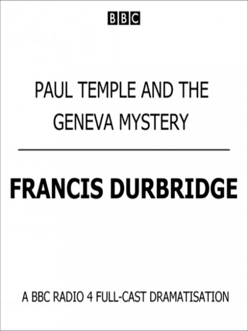 Paul Temple and the Geneva Mystery Cover