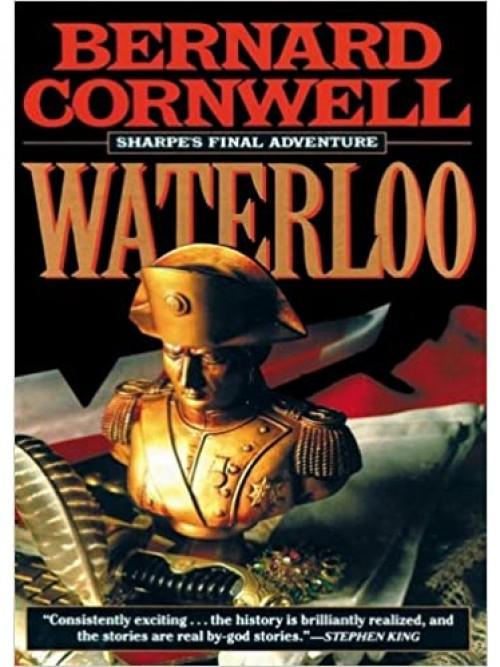 Sharpe's Waterloo Cover