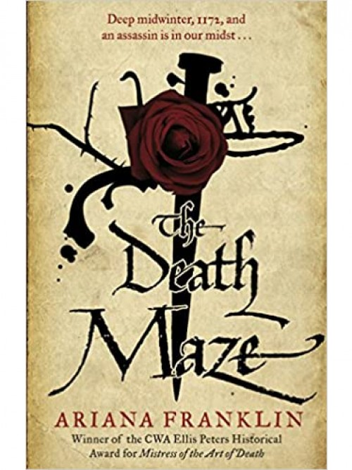 Mistress of the Art of Death Series Book 2: The Death Maze Cover