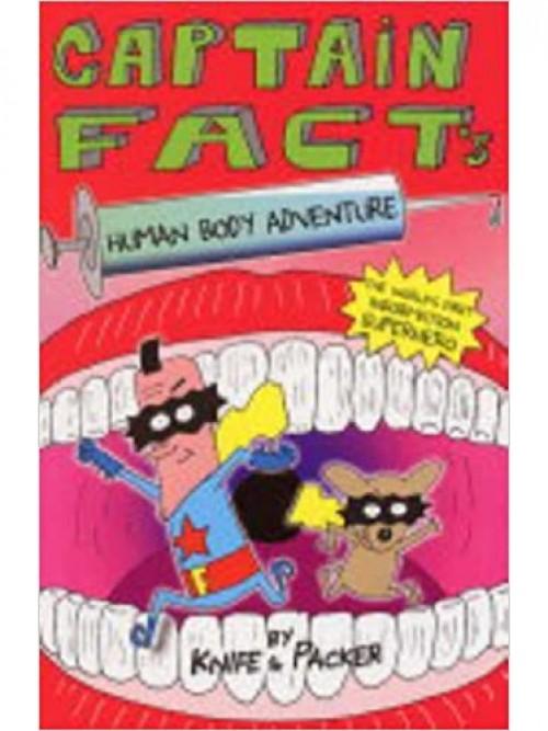 Captain Fact: Human Body Adventure Cover