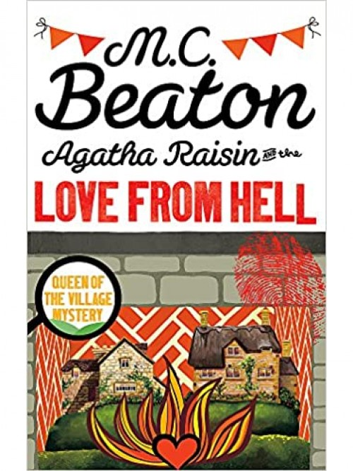 Agatha Raisin and the Love From Hell Cover