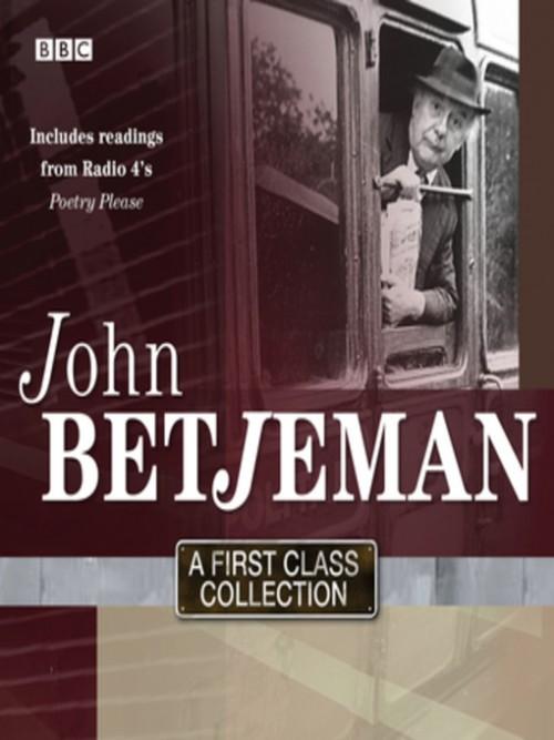 John Betjeman; A First Class Collection Cover