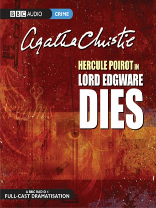 Lord Edgware Dies Cover