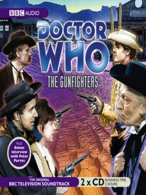 Doctor Who: The Gunfighter Cover