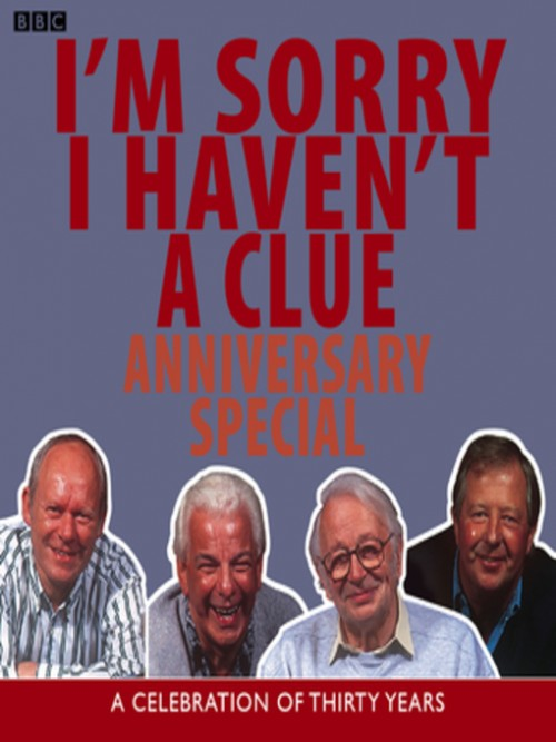I'm Sorry I Haven't A Clue Anniversary Special Cover
