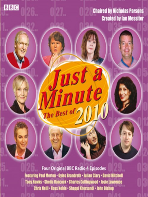 Just A Minute: The Best of 2010 Cover