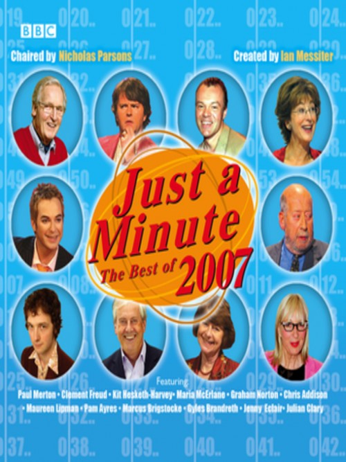 Just A Minute: The Best of 2007 Cover