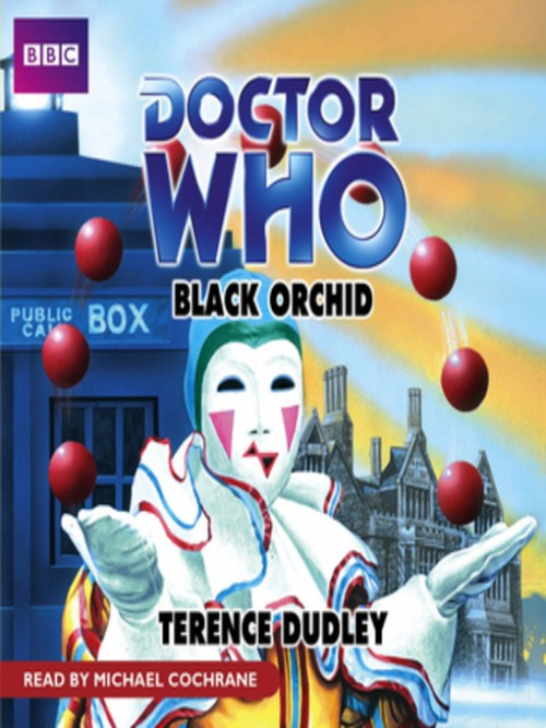 Doctor Who: Black Orchid Cover