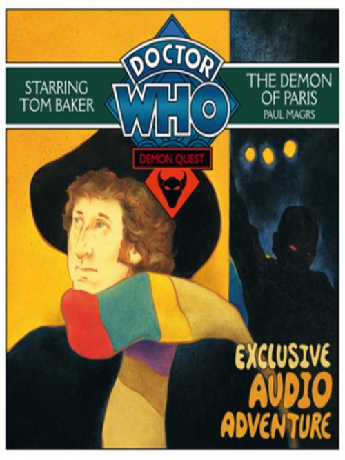 The Demon of Paris; Doctor Who Quest Series, Book 2 Cover