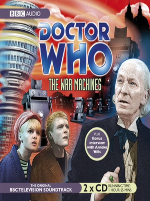 Doctor Who: The War Machines Cover