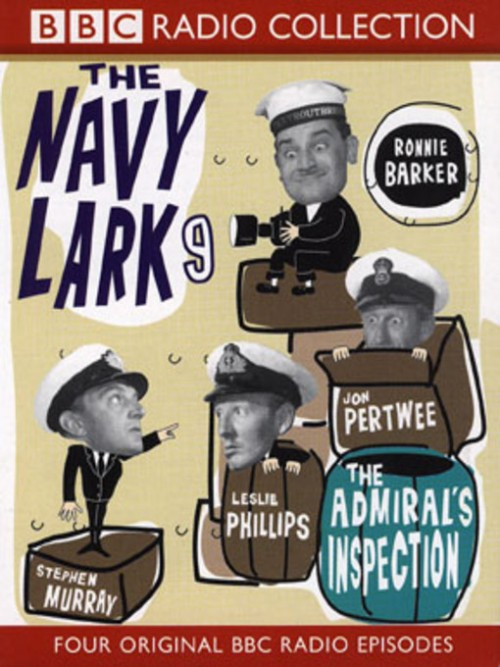 The Navy Lark: The Admiral's Inspections Cover