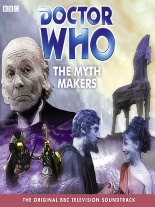 Doctor Who and the Myth Makers Cover