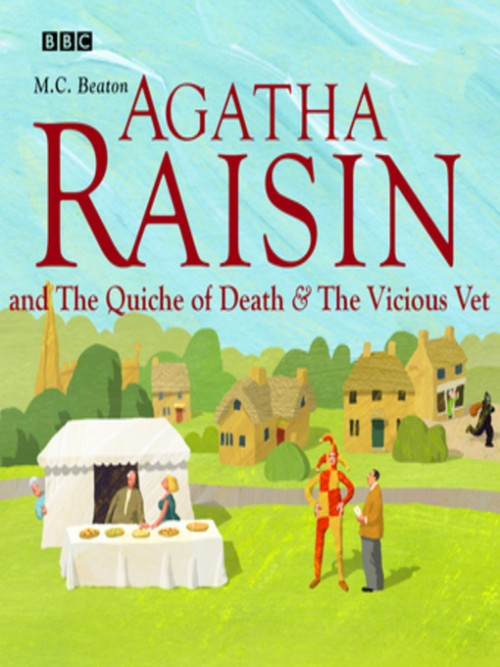Agatha Raisin and the Quiche of Death & Agatha Raisin and the Vicious Vet Cover