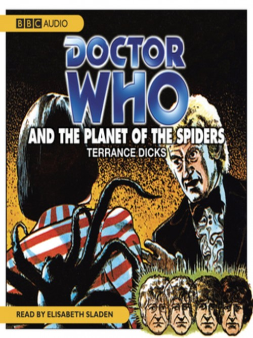 Doctor Who and the Planet of the Spiders Cover