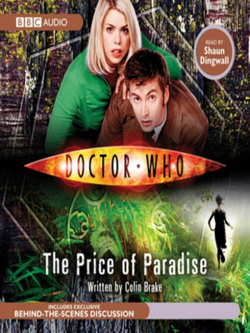 Doctor Who: The Price of Paradise Cover