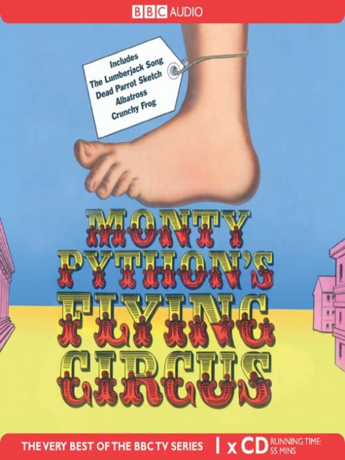 Nudge Nudge Wink Wink: Monty Python's Flying Circus Cover