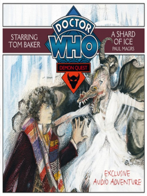 Doctor Who Demon Quest Series Book 3: A Shard of Ice Cover