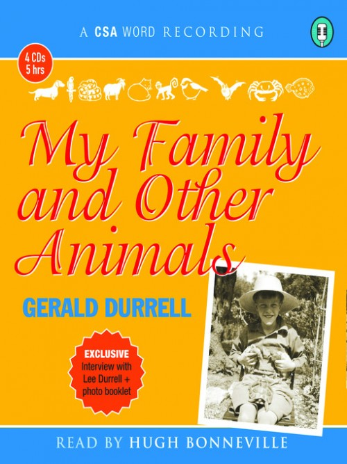 My Family and Other Animals Cover