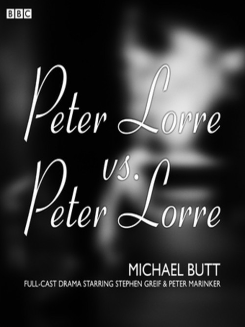 Peter Lorre V Peter Lorre Cover