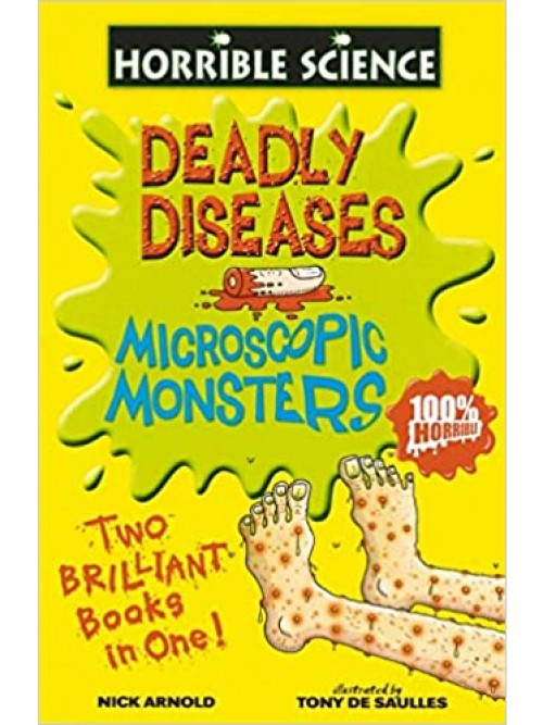 Horrible Science: Microscopic Monsters Cover