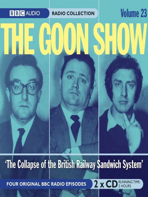 The Goon Show - The Collapse of the British Rail Cover