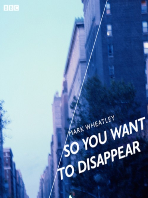 So You Want To Disappear Cover