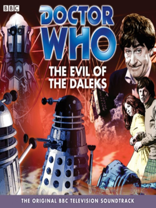 Doctor Who: The Evil of the Daleks Cover