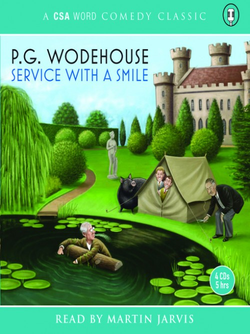 Service With A Smile Cover
