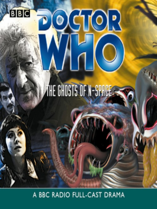 Doctor Who: The Ghosts of N-space Cover