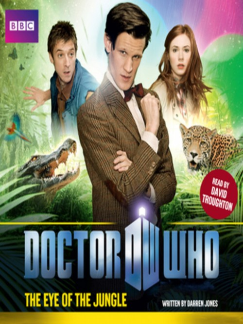 Doctor Who: The Eye of the Jungle Cover
