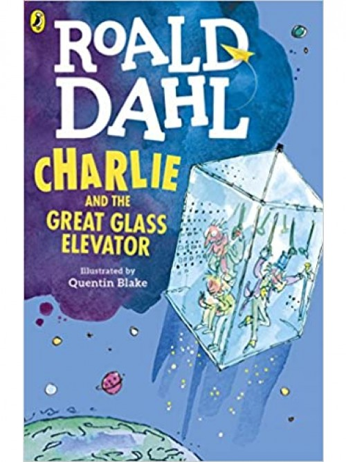 Charlie and the Great Glass Elevator Cover
