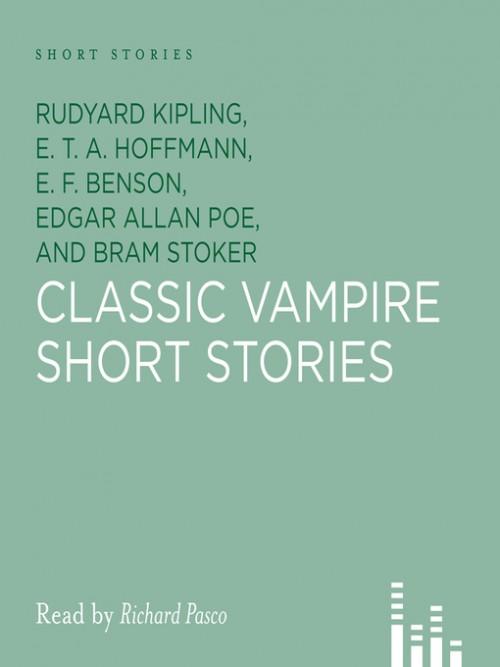 Classic Vampire Short Stories Cover