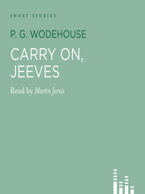 Carry On, Jeeves Cover