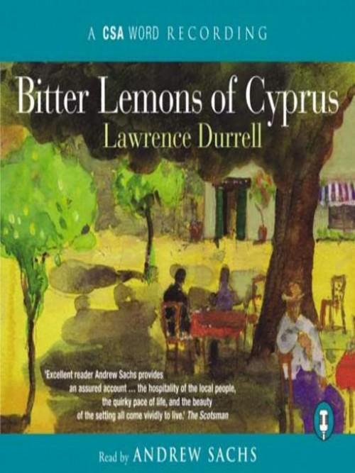 Bitter Lemons of Cyprus Cover